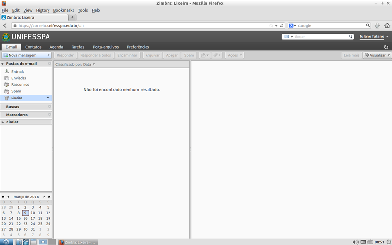 Acessando o Webmail institucional.